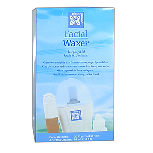 Clean easy facial waxer