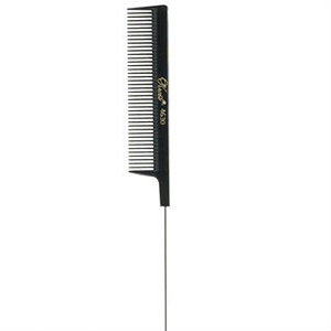 KREST COMBS Krest Series 8 inch Perm Coarse Teeth Comb Black  4630