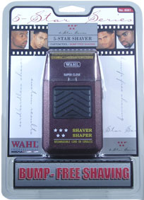 WAHL Professional 5 Star Series Bump Free Shaver 8061