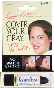IRENE GARI Cover Your Gray Stick For Women Black 0.15oz / 14g