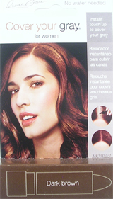 IRENE GARI Cover Your Gray Stick for Women DARK BROWN 0.15oz / 4.2g