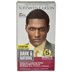 SOFTSHEEN CARSON Dark & Natural 5 Minute Permanent Hair Color Kit for