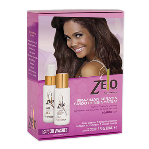 ZELO Brazilian Keratin Smoothing System For Coarse Hair