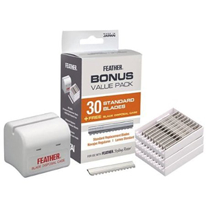 FEATHER Razor Blades Value Pack (30 pk)