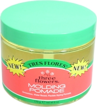 TRES FLORES Three Flowers Molding Pomade 6oz/170g