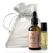 NADYA 100%Pure Organic Cold Pressed Cosmetic Grade Argan Oil Travel Kit