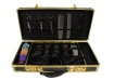 Hairart Barber Case Black/Gold Frame & Lock (Model: 791530)