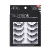 Ardell Luxuriously Lightweight w/ Knot-Free Invisiband Faux Mink #811 Lashes 4 Pair (Model: 67410)