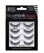 Ardell Luxuriously Lightweight w /  Knot-Free Invisiband Faux Mink Wispies Lashes 4 Pair (Model: 67409)