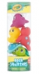 Crayola Squeeze n Squirt Bath Squirters 5pcs