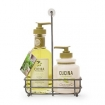 Cucina Coriander and Olive Tree Soap and Hand Cream Duo