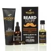 Woody's for Men Beard Stuff Tattoo Oil, Beard Wash & 2-in-1 Conditioner Kit (Item# 90761)