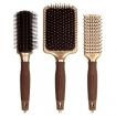 Olivia Garden NanoThermic Cearmic + Ion Styler Brush 3pc Bag Deal (Model: NT-DL06)