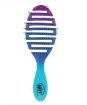 Wet Brush-Pro Flex Dry Round Brush - Teal Ombre (Model: BWP800FXTOM)