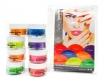 Cuccio Pro Powder Nail Polish Dip System Funky Neons Collection 8pc