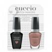 Cuccio Match Makers LED / UV Soak Off Veneer Gel & Colour Lacquer Kit (Nude-A-Tude)