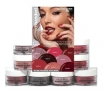 Cuccio Pro Powder Nail Polish Dip System Red Handed Collection 8pc