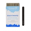 FLOWERY Black Beauty Wood Core File 180/180 Pack of 40  BB0040