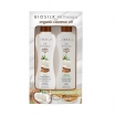 Biosilk Silk Therapy w/ Organic Coconut Oil 3-in-1 Shampoo & Leave-In Treatment 5.64oz Kit