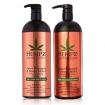 Hempz Pure Herbal Extracts Sweet Pineapple & Honey Melon Shampoo & Conditioner Set 33.8oz
