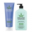 Hempz Pure Herbal Extracts Triple Moisture Herbal Whipped Crème Lotion & Body Wash Gift Set