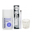 RefectoCil Pure Black Cream Hair Dye w/Oxidant 3% (10) Volume Liquid Developer, Silver Brush & Mixing Glass Dish Set