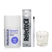RefectoCil Graphite Cream Hair Dye w / Oxidant 3% (10) Volume Liquid Developer, Mixing Brush & Mixing Glass Dish Set