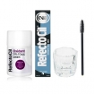 RefectoCil Blue Black Cream Hair Dye w / Oxidant 3% (10) Volume Cream Developer, Mascara Brush & Mixing Glass Dish Set