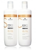 Schwarzkopf Bonacure Time Restore Shampoo & Conditioner Liter Duo