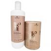 Schwarzkopf Professional Blond Me Powder lift w /  40 Volume Developer Set