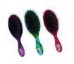 The Wet Brush-Pro Original Detangler Stain Glass 3pc Brush Set (Pink, Green, & Purple)
