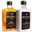 Woody's for Men Shampoo & Conditioner 12oz Duo