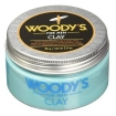 Woody's for Men Matte Finish Clay for Firm Flexible Hold 3.4oz (Item# 90597)
