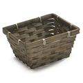 GETI BEAUTY Dark Stain Bamboo Tray Basket