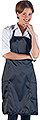 BETTY DAIN Satin Apron  BDC943