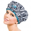 BETTY DAIN  The Fashionista Collection Shower Cap Sassy Stripes  BDC5210