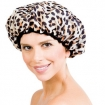 BETTY DAIN The Socialite Collection Shower Cap Safari Spots  BDC5250