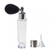GETI BEAUTY Empty Refillable Perfume Slim Glass Bottle with Black Antique Style Sprayer Top 3.57oz/100ml