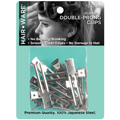 HAIR WARE Double-Prong Clips  HW002C