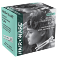 HAIR WARE Double-Prong Clips  HW002