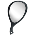 HAIR WARE Black Big Look Mirror  MR1203