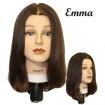 HAIRART Emma Medium Brown 100% Virgin European Hair Mannequin 4822MB