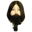HAIRART Jacob Elite Male Bearded Unprocessed 100% Human Hair Mannequin 4850