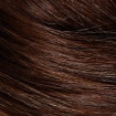 HAIRART 100% Virgin European Hair Designer Female Mannequin Emma Dark Brown 4822DB