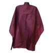 HAIRART X-Large Shampoo Cape Snap Closure Burgundy 9025BU