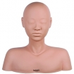 HAIRART Lifelike Rubber Massage Head with Shoulder & Back Strap 4021