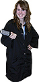 HOLLYWOOD UNIFORM Cover Up Shirt Black  HC0312BK