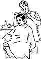 HOLLYWOOD UNIFORM Hair Cloths  HC0056WH
