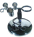 KAYLINE Professional Chrome Appliance Holder with Electrical Utility Outlet & Plug  PB5-E
