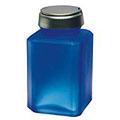 MENDA One Touch Liquid Pump Glass Bottle Blue 6 oz  35318
